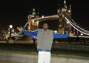 The NBA's past trips to London