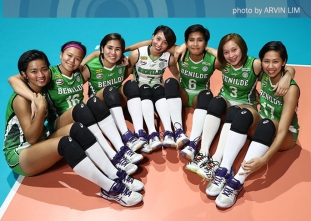 NCAA 92 Women's Volleyball OBB shoot: Benilde