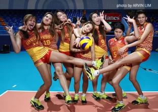 NCAA 92 Women's Volleyball OBB shoot: San Sebastian