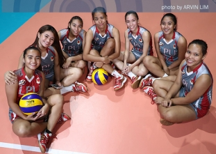 NCAA 92 Women's Volleyball OBB shoot: Lyceum