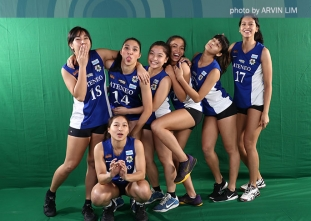 UAAP 79 Women's Volleyball OBB Shoot: Ateneo Lady Eagles