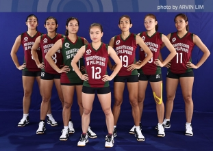 UAAP 79 Women's Volleyball OBB Shoot: UP Lady Maroons