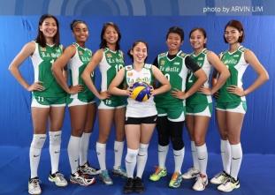 UAAP 79 Women's Volleyball OBB Shoot: DLSU Lady Spikers