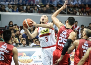 Hotshots take 2-0 lead over Ginebra after gutsy Game 2 win