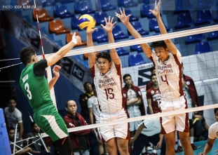 Green Spikers stun Maroons in straight sets for first win