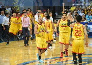 Hotshots regain control of Manila Clasico, one win away from