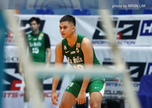 Woo-less Green Spikers keep Red Warriors out of win column