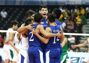 Blue Eagles sweep Round 1 for first time