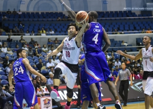 Mahindra breaks through NLEX for first win