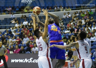 Pogoy sparks late rally as TNT stuns Blackwater