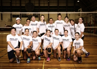 Premier Volleyball League Photo shoot: Perlas