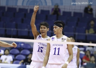 Blue Eagles survive gritty Bulldogs,  move closer to 3-peat
