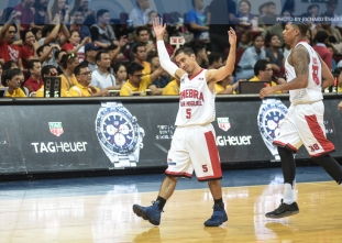 Brownlee books playoff ticket for Ginebra after downing SMB
