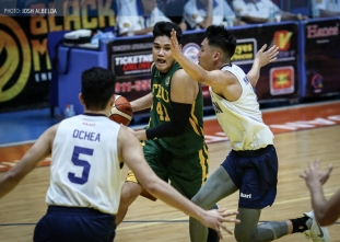 Tolentino stars in Tamaraws' trampling of Falcons