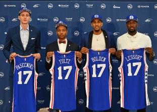 Philadelphia 76ers introduce 2017 rookie class