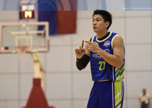 Teng bucks the flu to make sure Flying V stays spotless