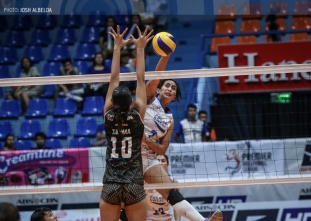 Lady Warriors grab second straight win, drop Spikers to 0-2