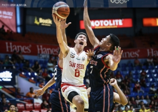 Bolick and Mocon team up in San Beda's takedown of Letran