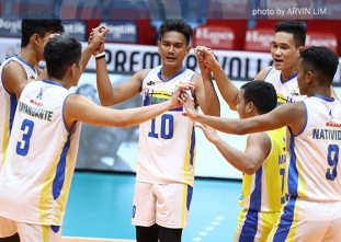 Volley Bolt score come-from-behind win to take semis opener