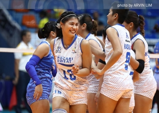Lady Warriors battle back from 0-2, barge back into Finals