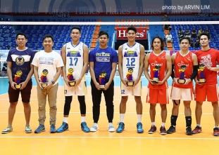 PVL Open Conference men's awarding ceremony