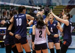 #AVCWomensSCH: Korea def. Kazakhstan, 25-21, 26-24, 25-10