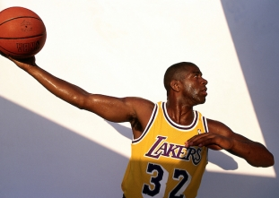 Happy birthday Magic Johnson! (August 14, 1959)