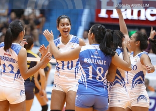 Lady Eagles drub Lady Bombers to open PVL stint