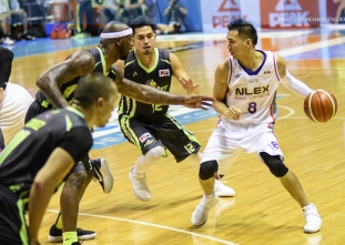 NLEX stays sharp after stopping Globalport