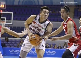 Desiderio drops 28 points as UP shows its might against UE