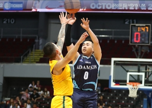 Falcons drop bombs on Tamaraws for fourth win in a row