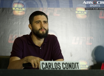 Carlos Condit Manila Press Conference