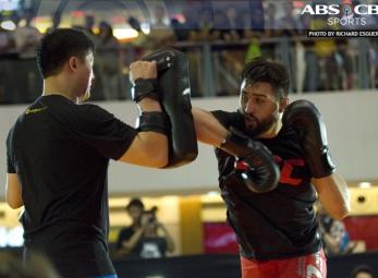 Carlos Condit Open Training