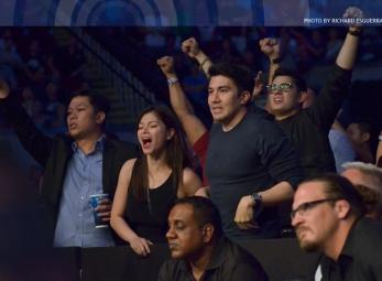 UFC Fight Night Manila: Celebrity Sightings