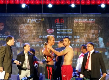 Pinoy Pride 32: Duel in Dubai 2 Weigh In Photos