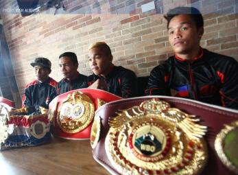 Pinoy Pride 33 press conference