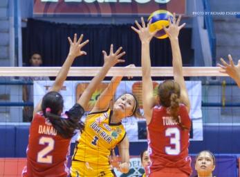 NCAA 91 Women's Volleyball: JRU vs. EAC
