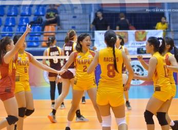 NCAA 91 Women's  Volleyball: Perpetual vs. Mapua