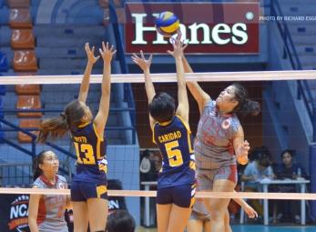 NCAA 91 Women's Volleyball: Lyceum vs. JRU