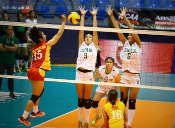 NCAA 91 Women's Volleyball: San Sebastian vs. CSB
