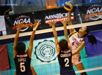 NCAA 91 Women's Volleyball: Perpetual vs. Letran
