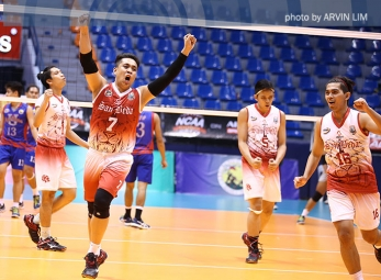 Red Spikers clinch last Final Four spot