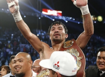 Manny Pacquiao unanimously outpoints Timothy Bradley