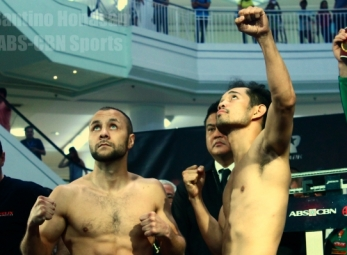 THE TIME HAS COME: Donaire vs. Bedak Official Weigh-ins