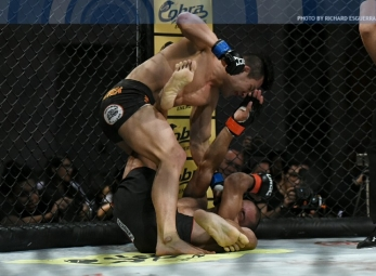 Do Gyeom Lee demolish Red Romero to take title to Korea