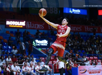 League-leading San Beda reinforces mastery over EAC