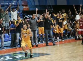 Pontejos goes off, JRU burns down San Beda's spotless slate