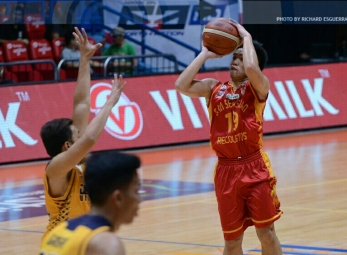 Baste dominates JRU to end NCAA 92 campaign