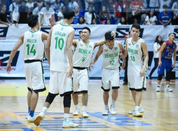 CSB-LSGH tops Arellano anew to take third-seed
