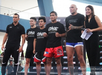 ONE Championship Open Workout | Mall of Asia